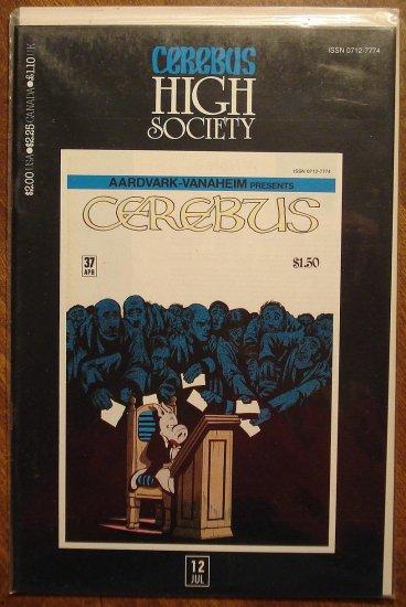 Cerebus - High Society (reprint series) #12 comic book - Dave Sim - Aardvark-Vanaheim