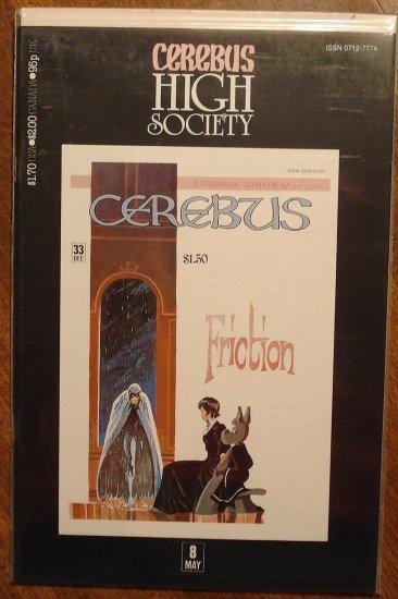 Cerebus - High Society (reprint series) #8 comic book - Dave Sim - Aardvark-Vanaheim