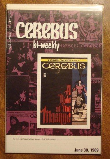 Cerebus Bi-Weekly (reprint series) #16 comic book - Dave Sim - Aardvark-Vanaheim