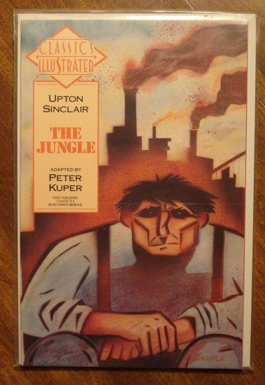 Classics Illustrated: The Jungle by Upton Sinclair comic book - First Comics