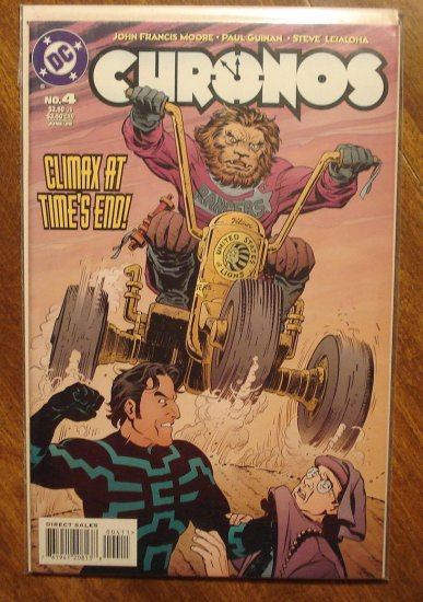 Chronos #4 comic book - DC comics