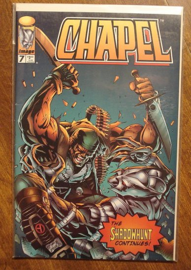 Chapel #7 comic book - Image comics