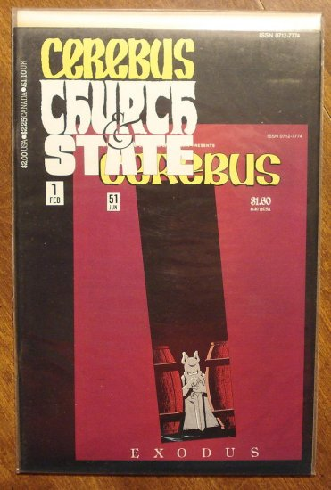 Cerebus: Church & State (reprint series) #1 comic book - Dave Sim - Aardvark-Vanaheim