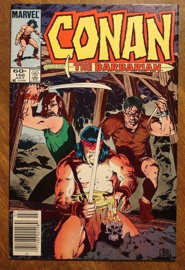 Conan The Barbarian #160 comic book - Marvel comics