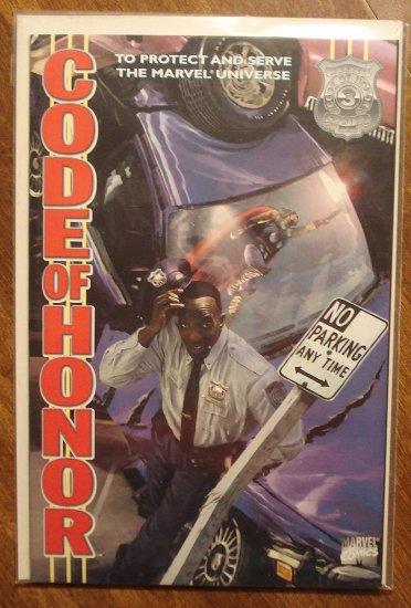 Code of Honor #3 comic book - Marvel comics