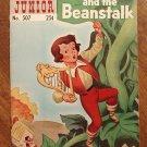 Classics Illustrated Junior (jr.): Jack & the Beanstalk comic book, VG, 1969