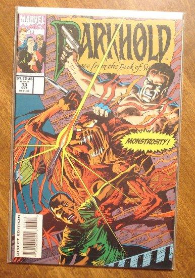 Darkhold #13 comic book - Marvel comics