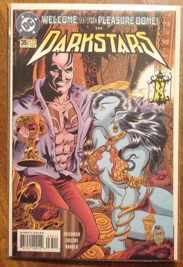 Darkstars #35 comic book - DC comics