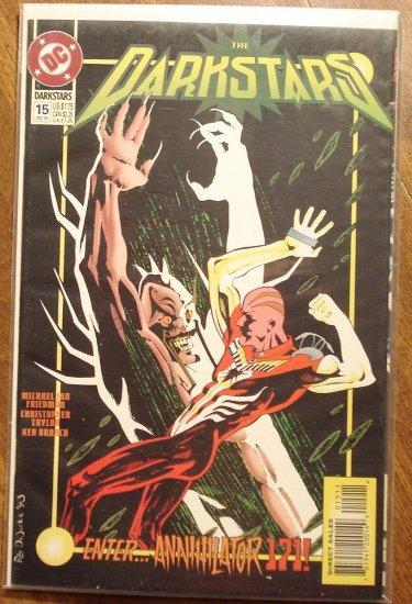 Darkstars #15 comic book - DC comics