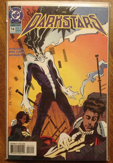 Darkstars #14 comic book - DC comics