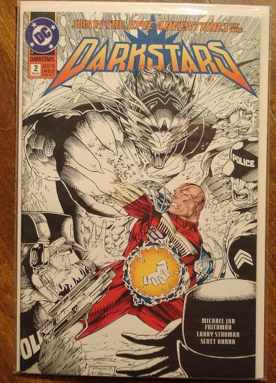 Darkstars #2 comic book - DC comics
