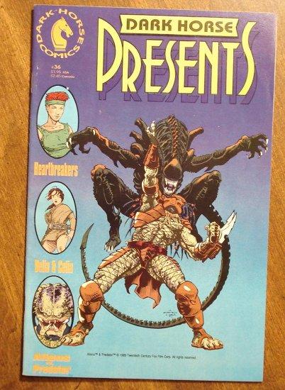 Dark Horse Presents #36 comic book - Dark Horse Comics - Aliens vs Predator