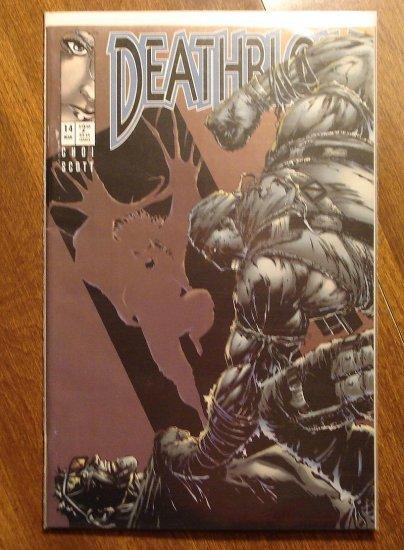 Deathblow #14 comic book - Image Comics