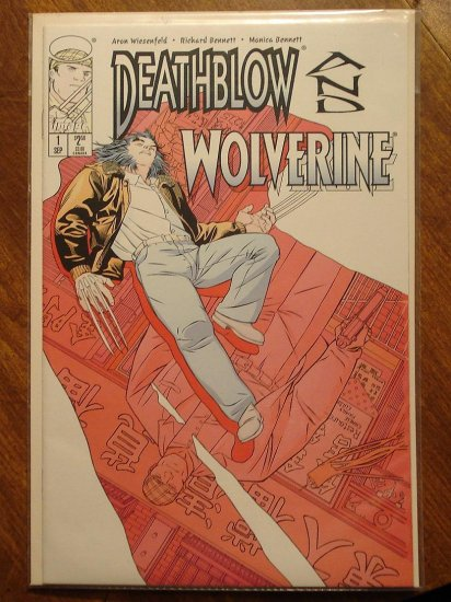 Deathblow & Wolverine #1 comic book - Marvel & Image Comics