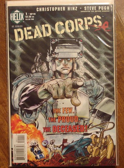 Dead Corps #1 comic book - DC (Helix) Comics