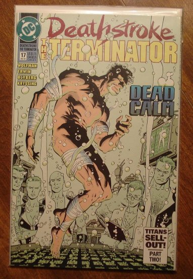 Deathstroke the Terminator #17 comic book - DC Comics