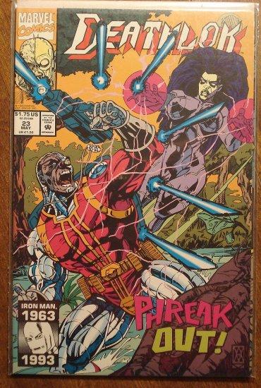 Deathlok #23 comic book - Marvel comics