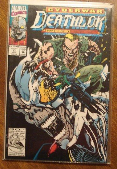 Deathlok #17 comic book - Marvel comics