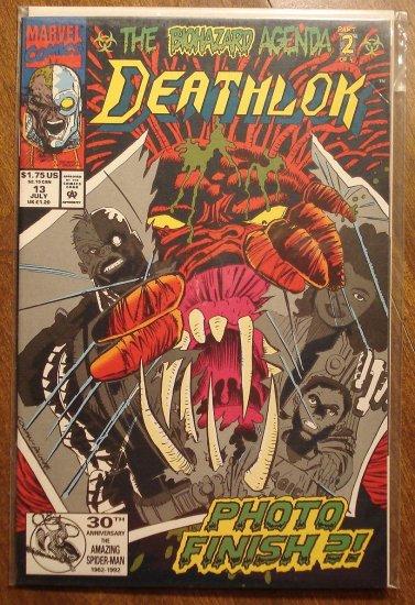 Deathlok #13 comic book - Marvel comics