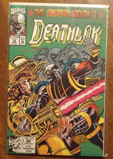 Deathlok #12 comic book - Marvel comics