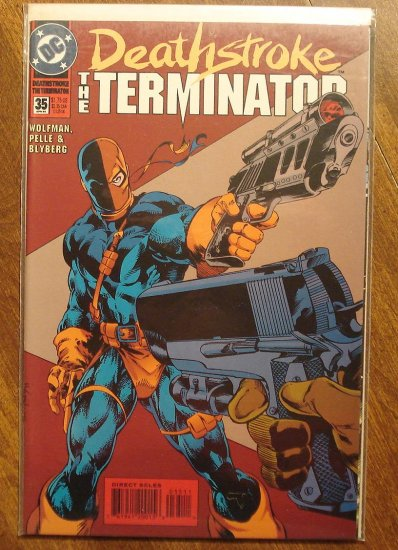 Deathstroke the Terminator #35 comic book - DC Comics