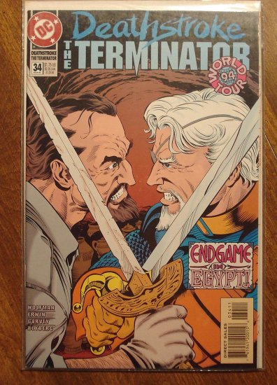 Deathstroke the Terminator #34 comic book - DC Comics