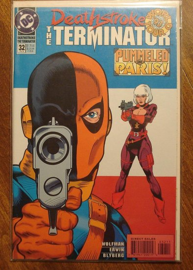 Deathstroke the Terminator #32 comic book - DC Comics