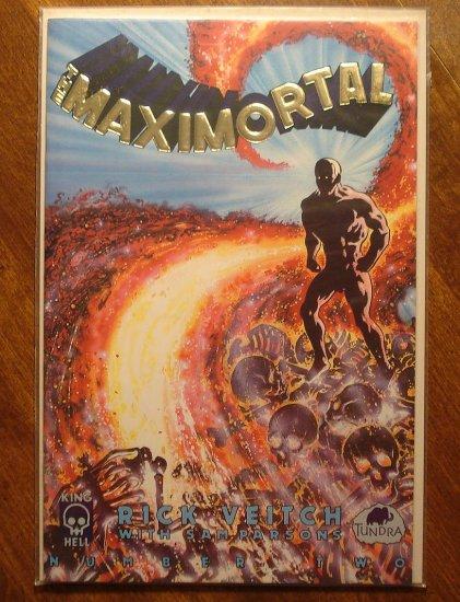 MaxiMortal #2 comic book - King Hell Comics - Rick Veitch