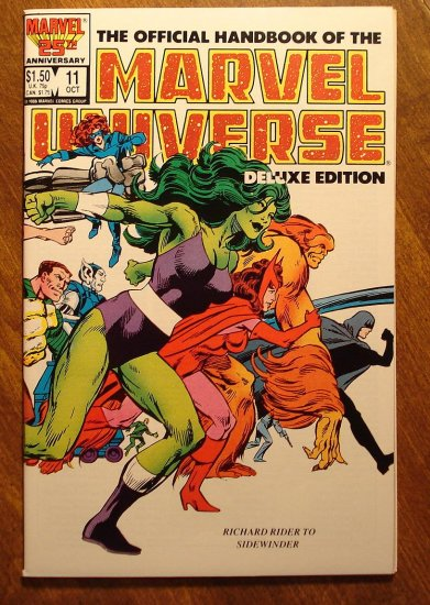 Official Handbook to the Marvel Universe (Deluxe Edition) #11