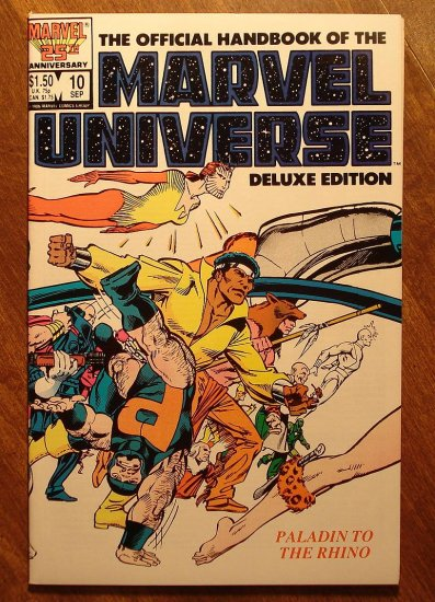 Official Handbook to the Marvel Universe (Deluxe Edition) #10