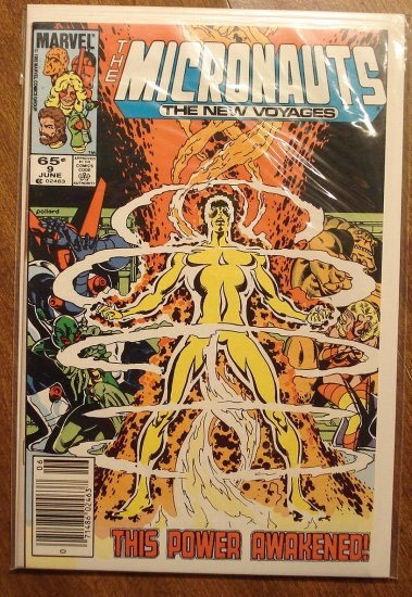 Micronauts: The New Voyages #9 comic book - Marvel comics