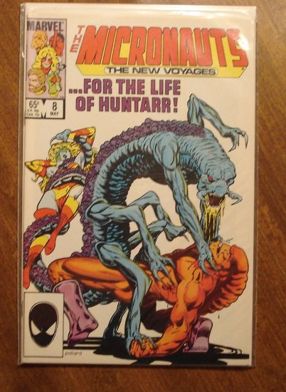 Micronauts: The New Voyages #8 comic book - Marvel comics
