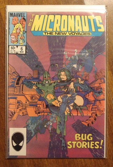 Micronauts: The New Voyages #6 comic book - Marvel comics