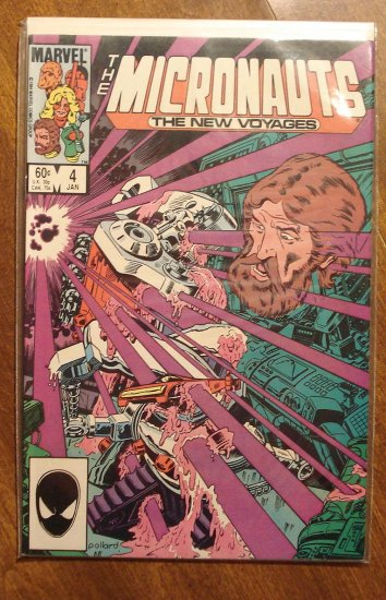 Micronauts: The New Voyages #4 comic book - Marvel comics