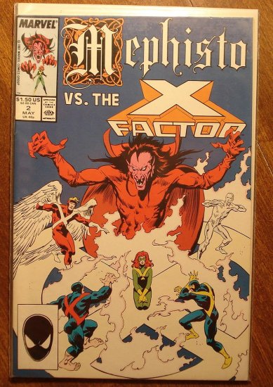Mephisto vs. X-Factor #2 comic book - Marvel comics