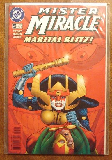 Mister Miracle (1990's series) #5 comic book - DC Comics