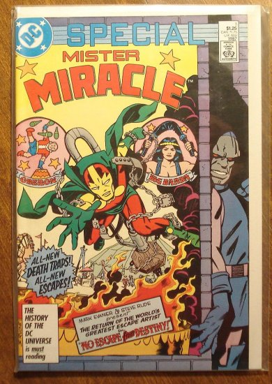 Mister Miracle Special (1980's series) #1 comic book - DC Comics