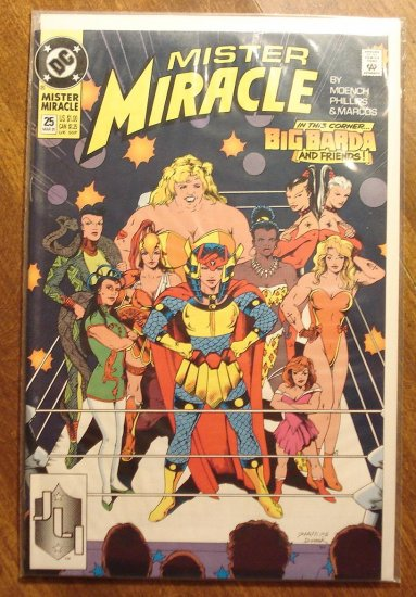 Mister Miracle (1980's series) #25 comic book - DC Comics