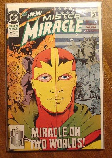 Mister Miracle (1980's series) #23 comic book - DC Comics