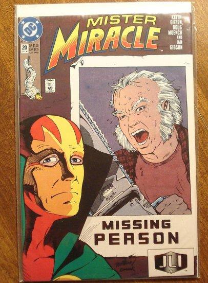 Mister Miracle (1980's series) #20 comic book - DC Comics