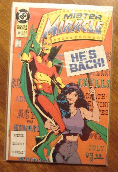 Mister Miracle (1980's series) #19 comic book - DC Comics