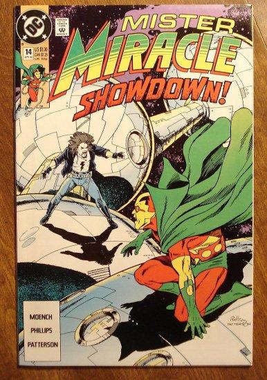 Mister Miracle (1980's series) #14 comic book - DC Comics