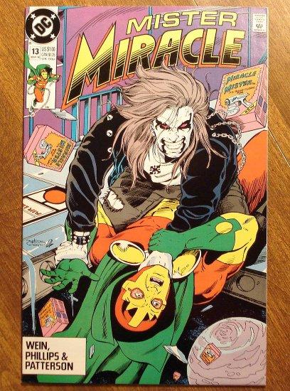 Mister Miracle (1980's series) #13 comic book - DC Comics