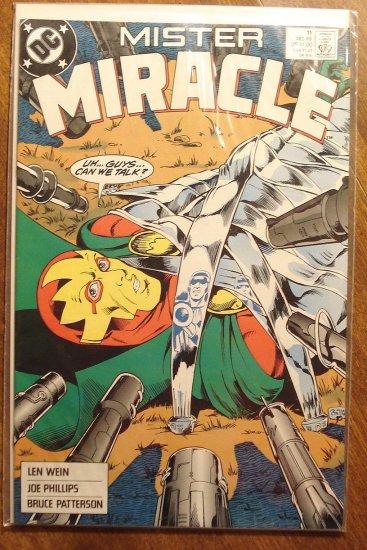 Mister Miracle (1980's series) #11 comic book - DC Comics