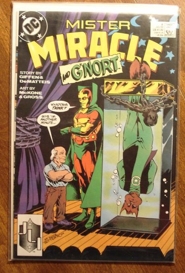 Mister Miracle (1980's series) #6 comic book - DC Comics