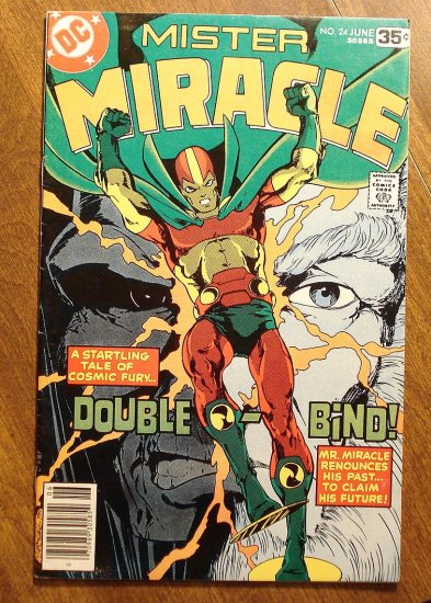 Mister Miracle (1970's series) #24 comic book - DC Comics