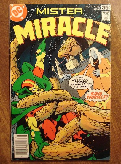 Mister Miracle (1970's series) #23 comic book - DC Comics