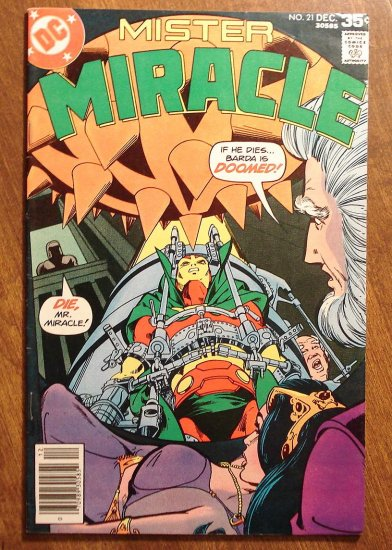 Mister Miracle (1970's series) #21 comic book - DC Comics