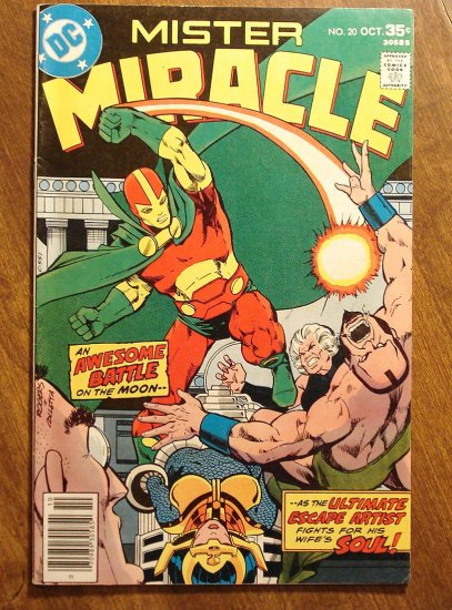 Mister Miracle (1970's series) #20 comic book - DC Comics