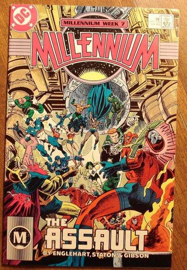 Millennium #7 comic book - DC Comics